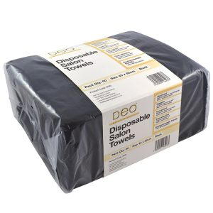 Deo Disposable Black Towels