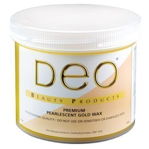 Deo Pearlised Gold Wax 425g