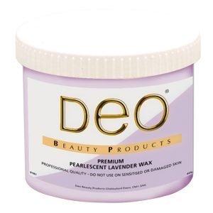 Deo Pearlised Lavender Wax 425g