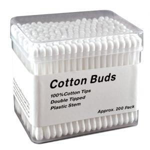 Plastic Stem Cotton Buds